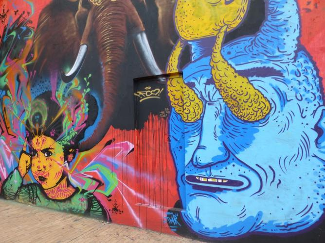 APC Colombian Street Art