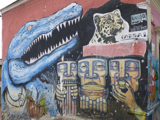 Corrosivo Carsal Colombia Street Art