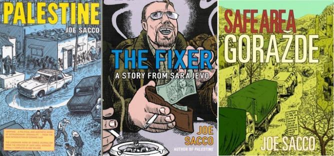 Joe Sacco Graphic Novels