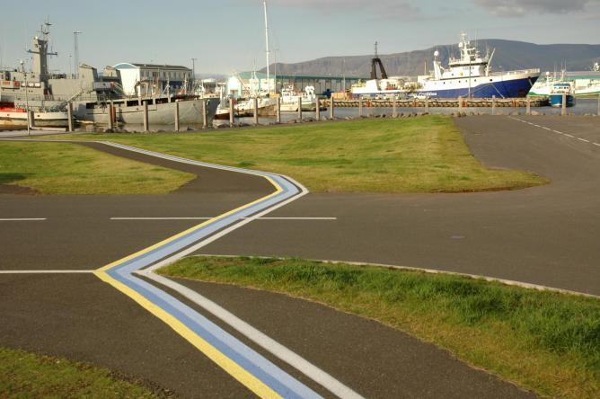 Reykjavik Harbor Path