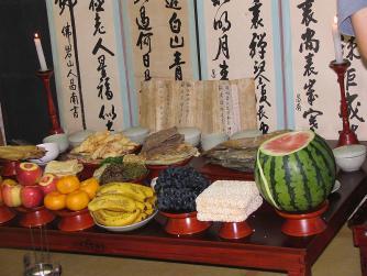Korean ancestor veneration | © Joseph Steinberg/WikiCommons