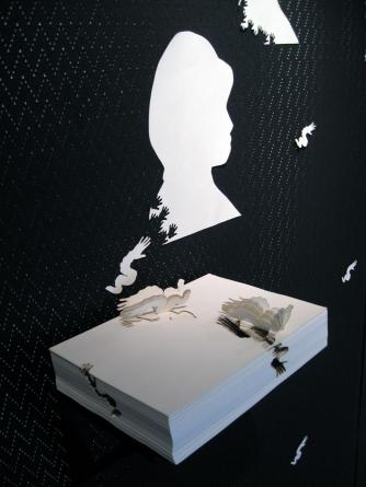 Phoebe Man, 'Rewriting History' installation view (detail). Image courtesy of the artist.