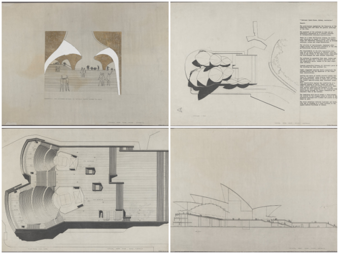 Jørn Utzon\'s Iconic Design for Sydney\'s Opera House