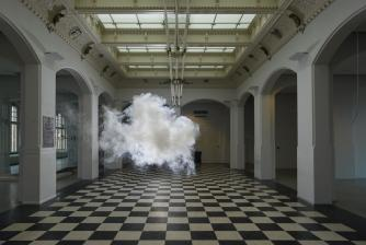 Berndnaut Smilde, Nimbus Munnekeholm, 2012, c-type print of dibond, 125 x 184 cm. Courtesy the artist and Ronchini Gallery