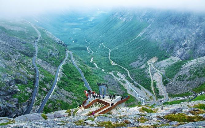 Reiulf Ramstad Arkitekter, Trollstigen Plateau