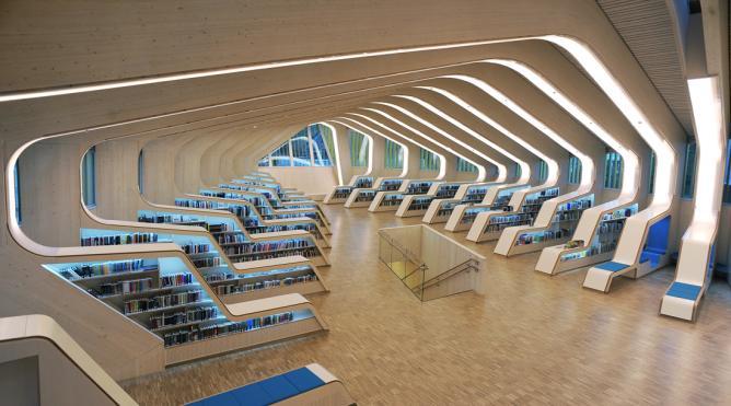 Helen & Hard, Vennesla Library