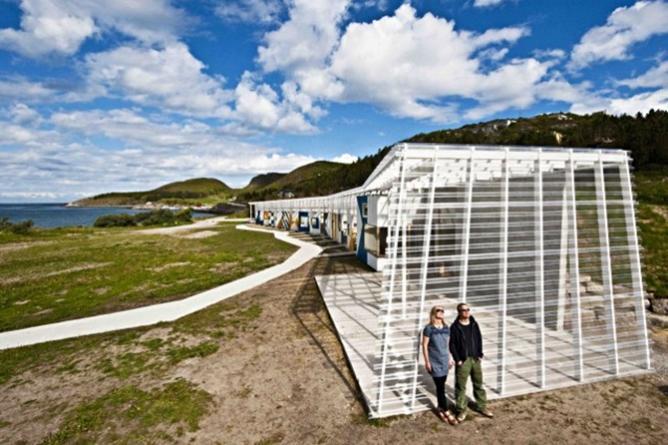 Pir2, Stokkøya Sjøsenter