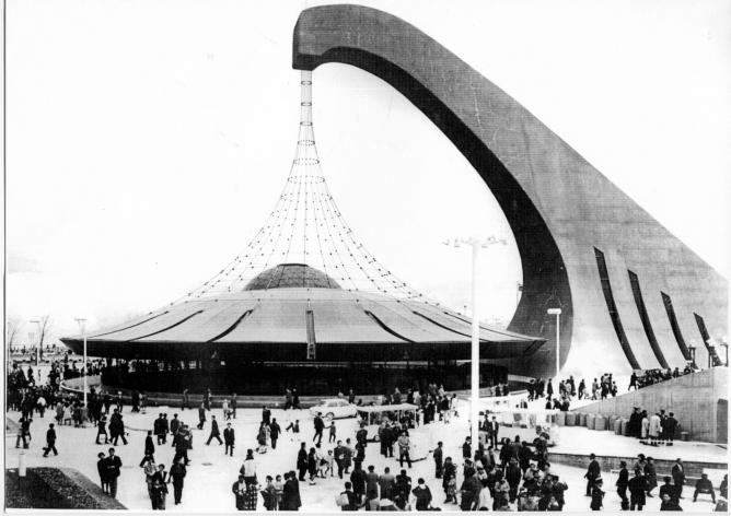 Expo 70 osaka a futuristic experience for Architecture 1970
