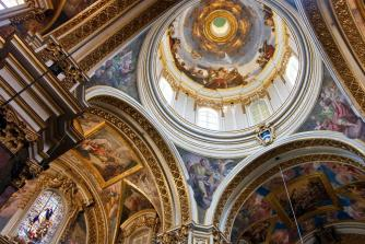 St Paul's Cathedral, Mdina /im-dee-na/ (1693 - 1706)