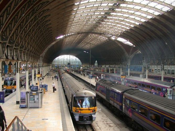 paddington station england