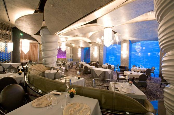 The 10 best restaurants to try in dubai for Luxury places in dubai