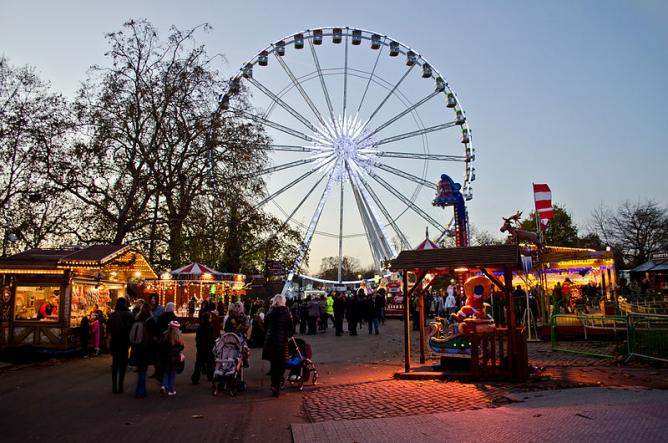 Winter Wonderland in Hyde Park, London, in 2011