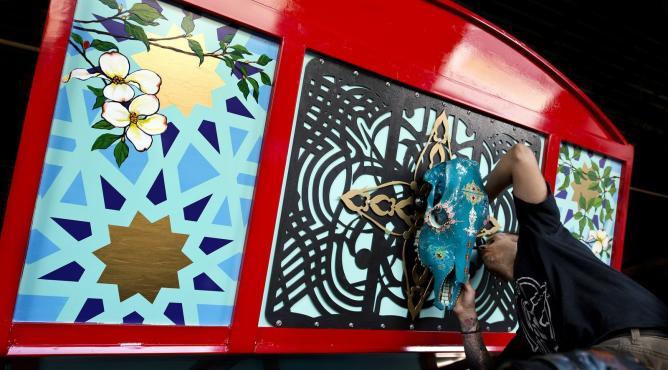 The pakistani cargo truck initiative for A shear pleasure pet salon