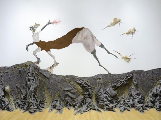 Wangechi Mutu exhibition Brooklyn museum