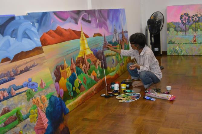 Nawaday Tharlar Art Gallery