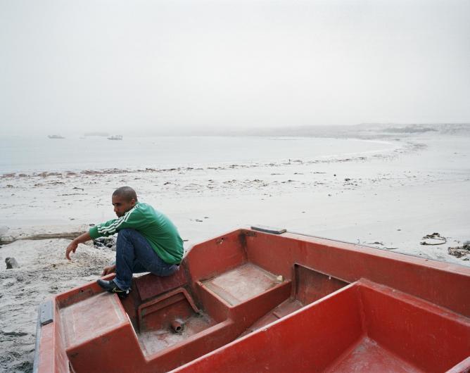 Malcolm Cloete, Hondeklip Bay, Northern Cape, 2012 | © Ilan Godfrey