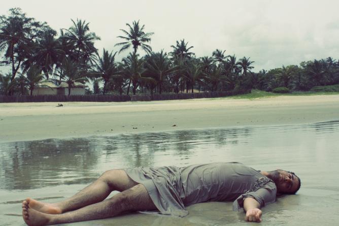 La vie m'est insupportable, 70x105cm, 2012 | Courtesy of Ibi Ibrahim