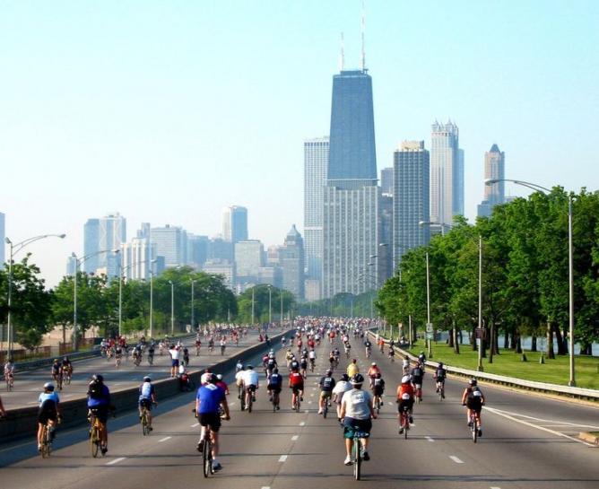 Bike the Drive, Chicago