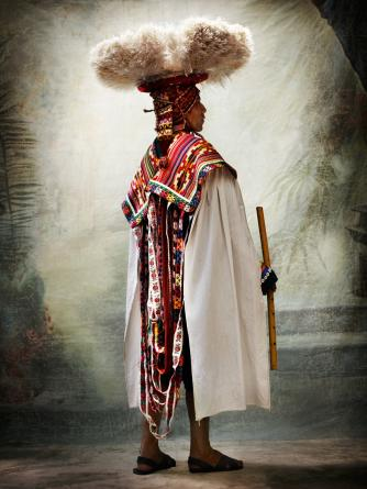 Male costume for the Carnaval d e Ccatcca. District of Ccatcca, province of Quispicanchi , Cusco, Peru