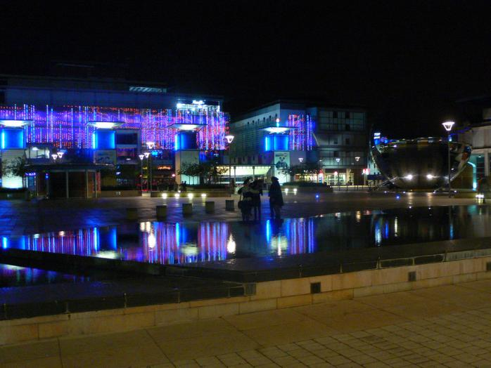 Millenium Square in Bristol