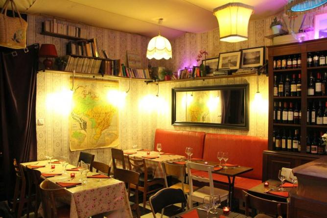 The 10 best restaurants in montmartre paris for Le miroir restaurant montmartre