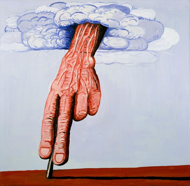 Philip guston from abstract expressionism to grotesque for Art postmoderne