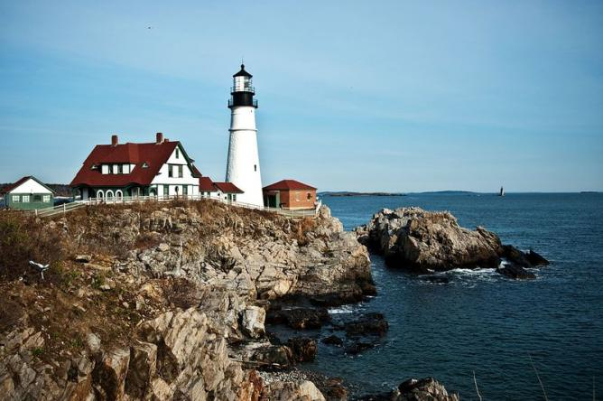 Portland Head Lighthouse, Portland Maine