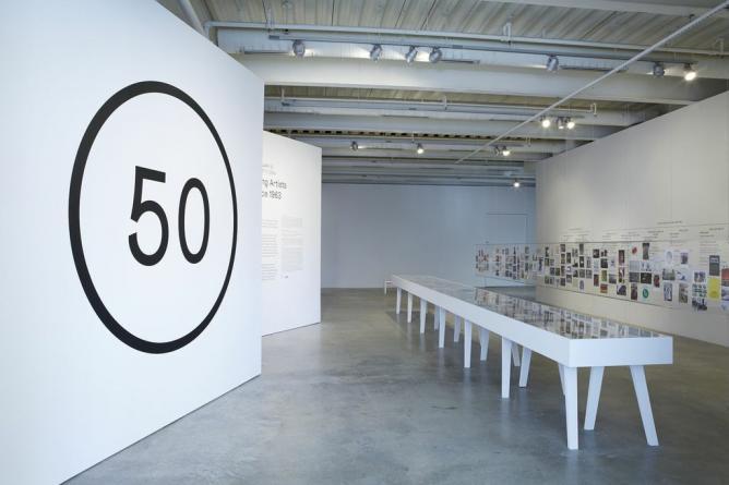 ICA @ 50, Institute of Contemporary Art, University of Pennsylvania.