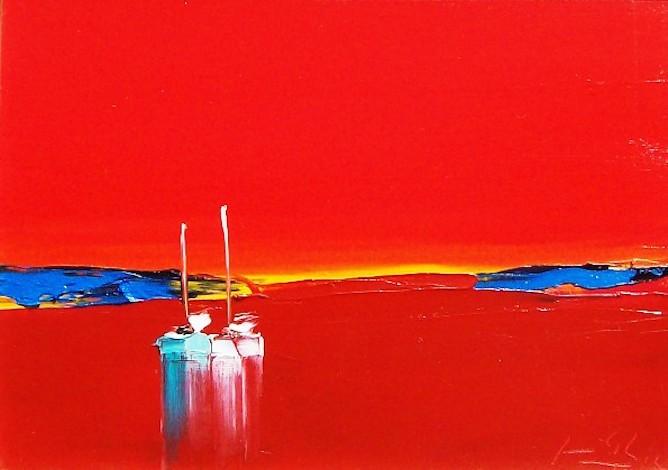 Francis Eck, Equilibrium, Image courtesy of Savannah Gallery