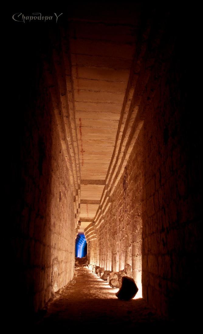 Catacomb corridor