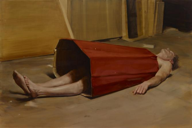 Michaël Borremans, The Devil's Dress