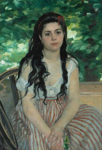 Auguste Renoir, En été - La bohémienne   Google Art Project