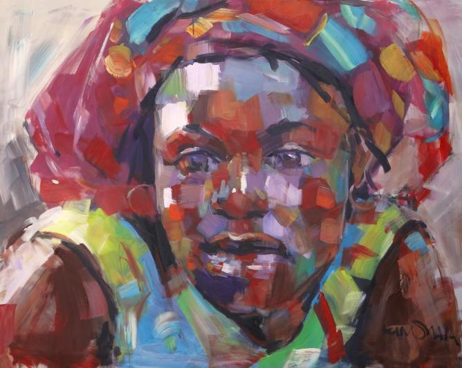 Patrick Kinuthia, Giriama | Courtesy Banana Hill Art Gallery