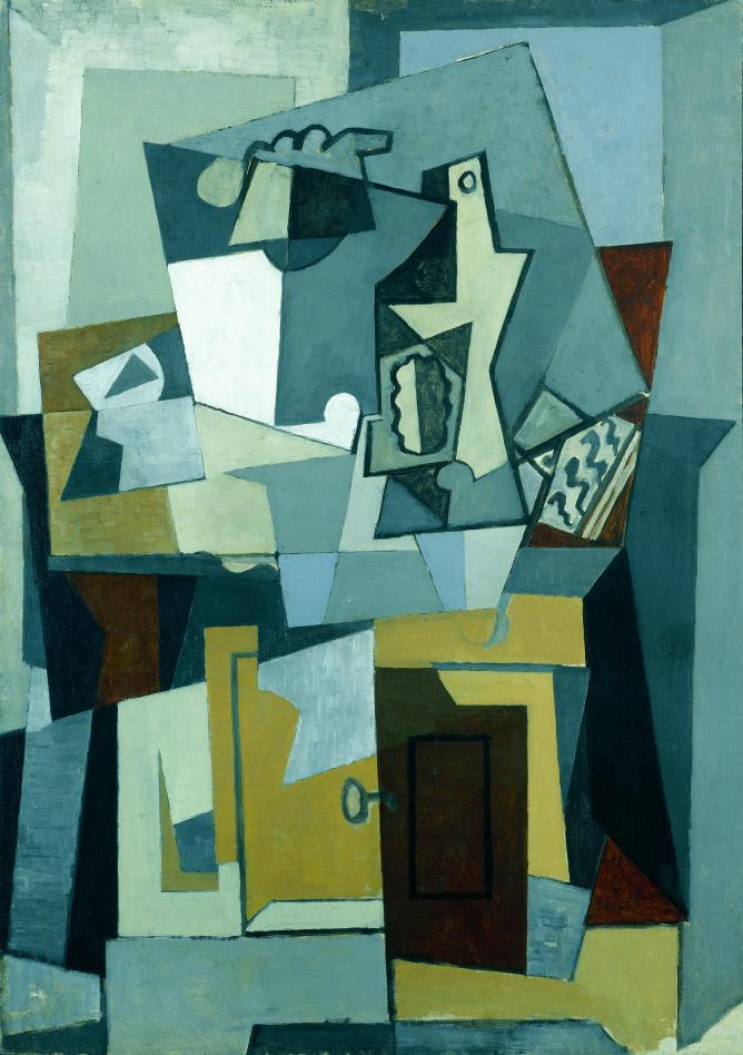 Pablo Picasso, Composición puerta y llave, 1919