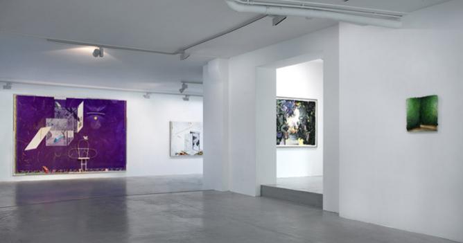 Installation view Matthias Weisher