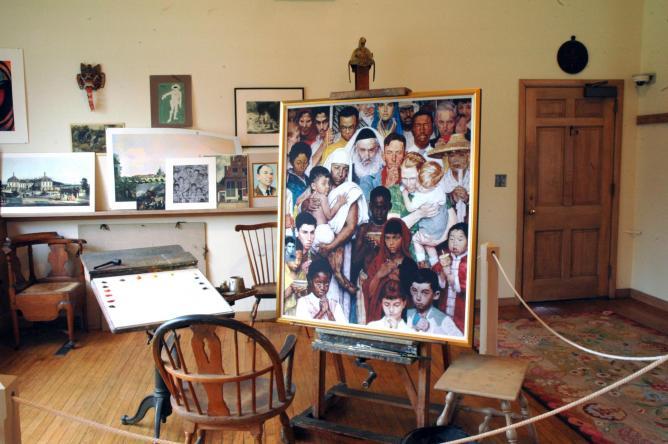 Norman Rockwell's Stockbridge studio