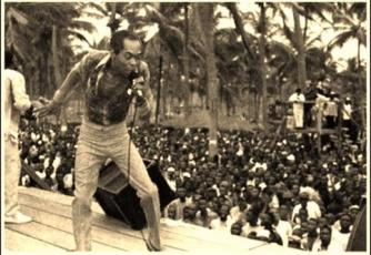 Fela Kuti, associated with Highlife | © Toludpilgrim/WikiCommons