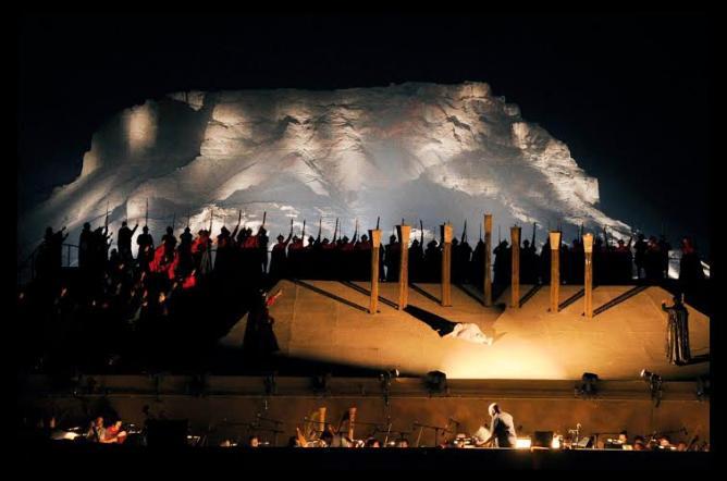 La Traviata at Masada Opera Festival