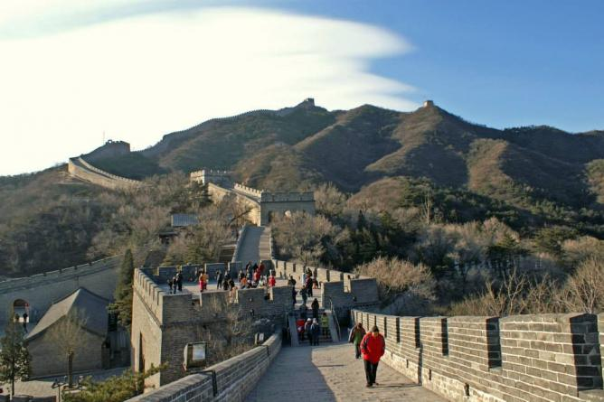 The Great Wall of China | © James Norman
