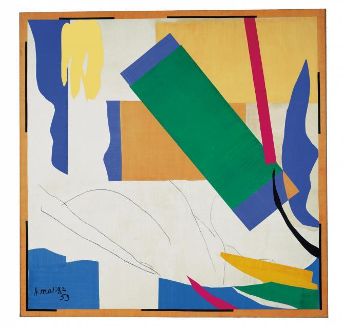 Henri Matisse, Memory of Oceania 1952-3