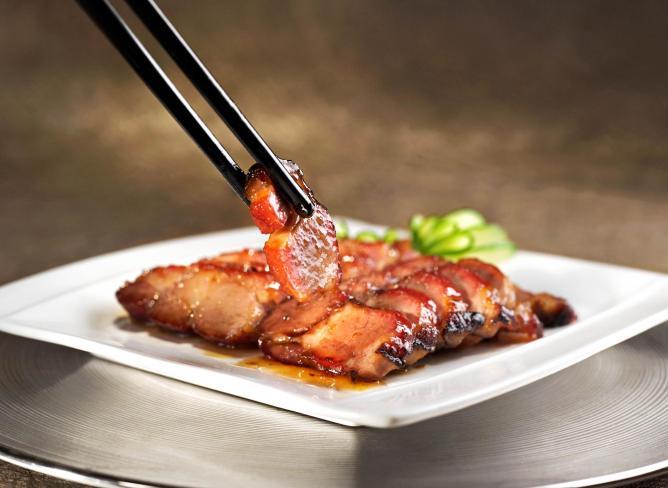 Honey-glazed Barbecued Kagoshima Pork | Courtesy Above and Beyond