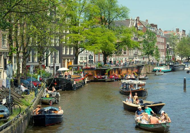 Canal in Jordaan Amsterdam   © Kevin McGill/WikiCommons