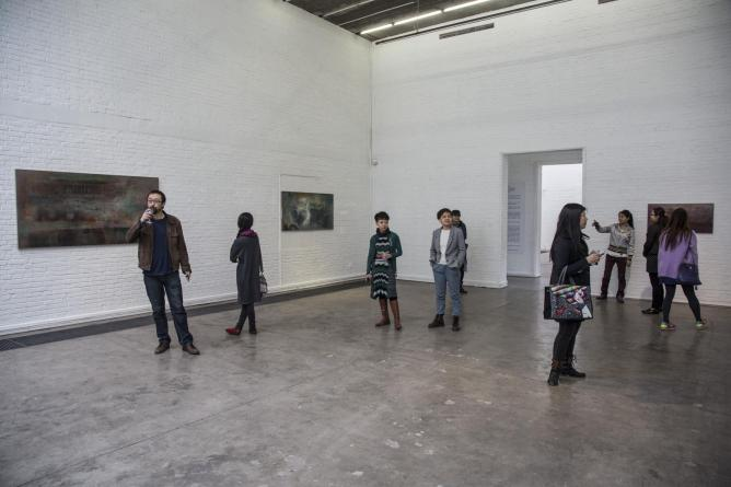 Xie Qi installation view