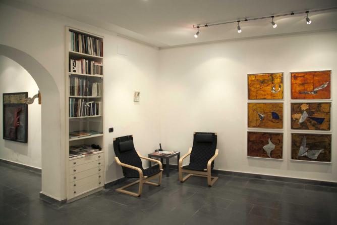 Giuseppe Forzisi, Luminosa, 2014, exhibition view | Courtesy of Galleria Quadrifoglio