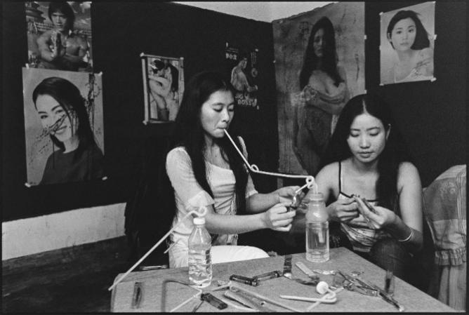 No.1 Women Smoking Opiates Lu Nan