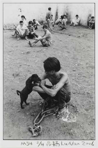 No.54 Boy with Dog Lu Nan