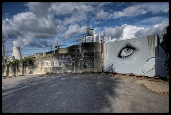 The Stunning Street Art Of Belgium S Decaying Ghost Town