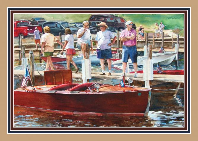 Work, Wood, Water and Conversation by Anita K Plucker