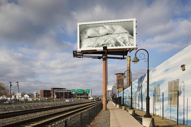 Felix Gonzales-Torres, 'Untitled', 1991, Billboard, Dimensions vary with installation