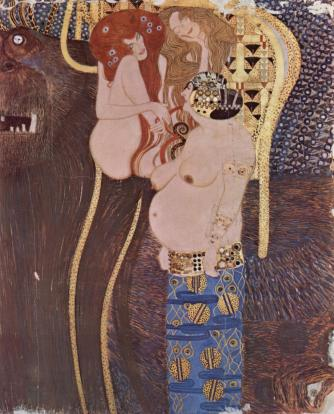 Gustav Klimt 'Beethoven Frieze'